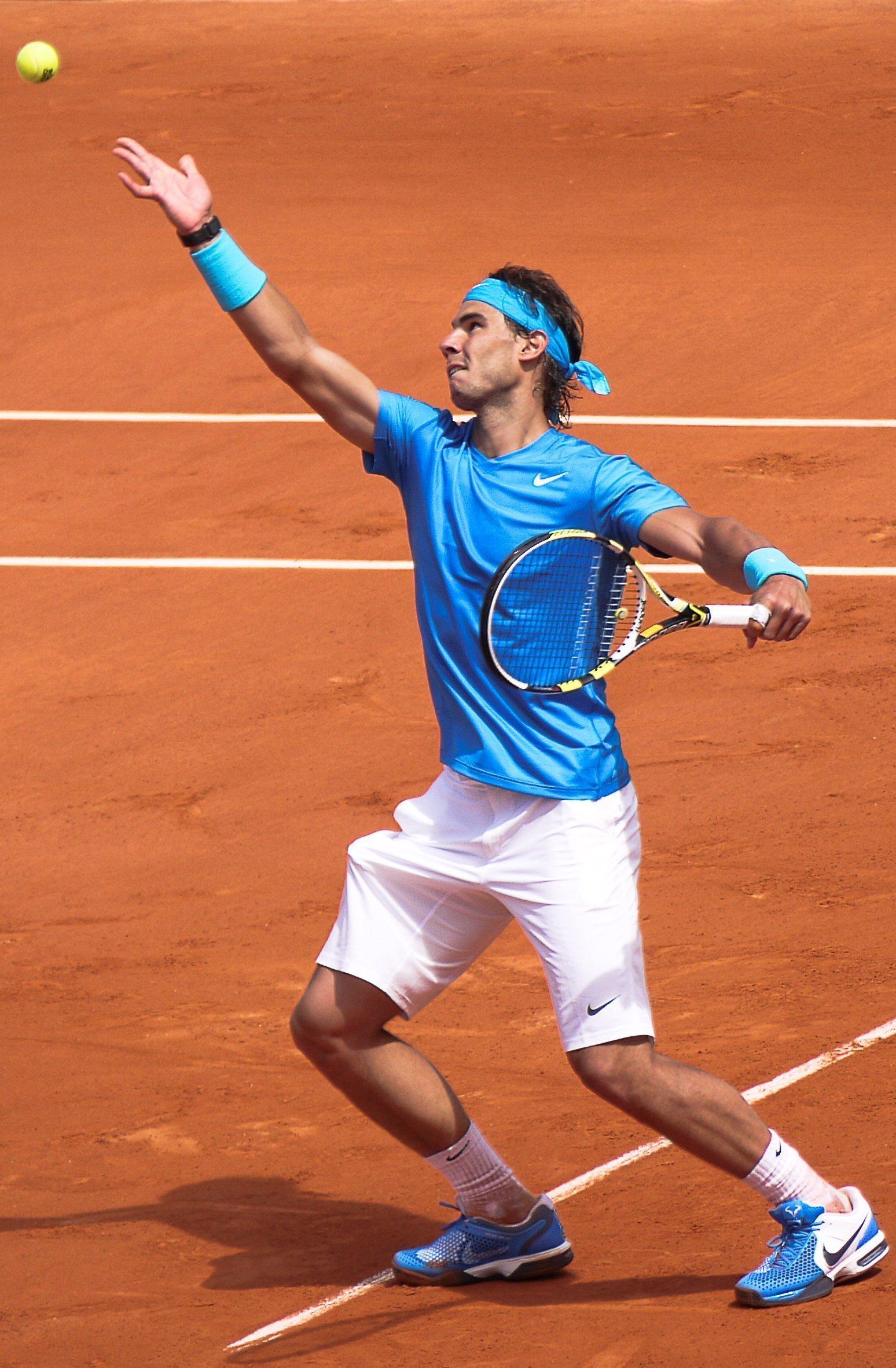 Rafael Nadal (ESP) def. John Isner (USA)Roland Garros 2011 - mardi 24 mai - 1er tour - Court Philippe Chatrier