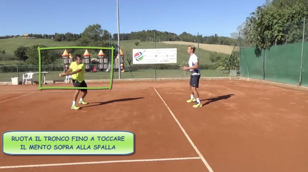 tennis con dritto più veloce