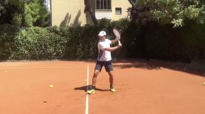 il rovescio nel tennis a una mano