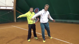 il rovescio in back nel tennis