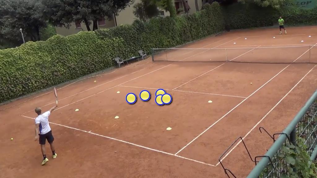 tattiche per il tennis su terra