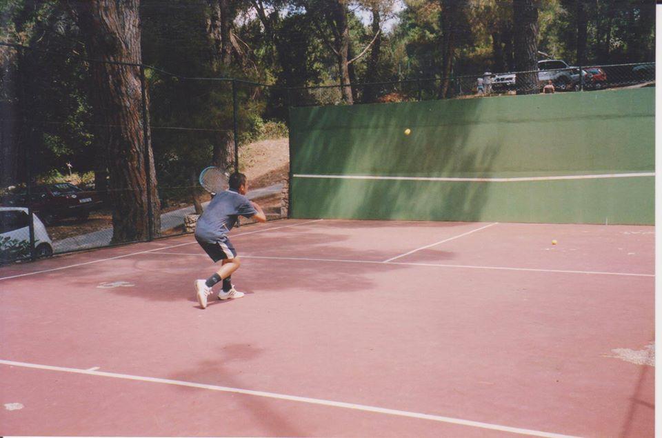 il tennis contro il muro